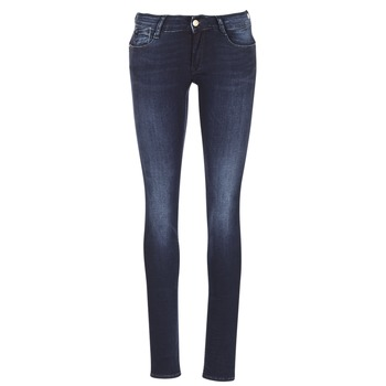 material Women slim jeans Le Temps des Cerises PULP Blue / MEDIUM