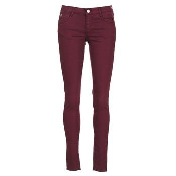 material Women slim jeans Le Temps des Cerises 316 PRUNE