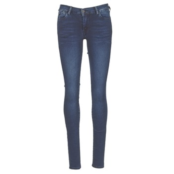 material Women Skinny jeans Le Temps des Cerises ULTRAPOWER Blue / Medium