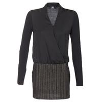 material Women Short Dresses Le Temps des Cerises MALAYA Black