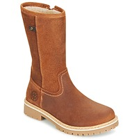 Shoes Girl Mid boots Bullboxer POUNI COGNAC
