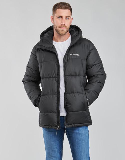 material Men Duffel coats Columbia PIKE LAKE HOODED JACKET Black