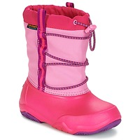 Shoes Girl Snow boots Crocs Swiftwater waterproof boot Party / Pink