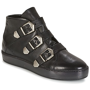 Shoes Women High top trainers Dream in Green  Black