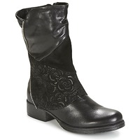Shoes Women Mid boots Dream in Green HANPI Black