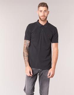 material Men short-sleeved polo shirts Replay POLOMI Black