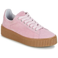 Shoes Women Low top trainers Yurban HADIL Pink