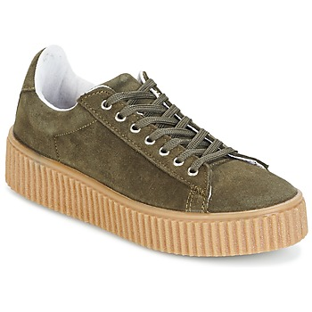Shoes Women Low top trainers Yurban HADIL Kaki