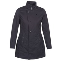 material Women Parkas G-Star Raw MINOR CLASSIC PADDED SLIM COAT Black