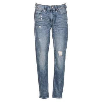 material Women Boyfriend jeans G-Star Raw MIDGE SADDLE BOYFRIEND WMN Blue