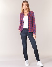 material Women Skinny jeans G-Star Raw 5620 STAQ 3D MID SKINNY WMN Marine