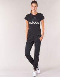 material Women Tracksuit bottoms adidas Originals ESS 3S PANT CH Black