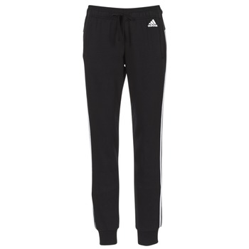 material Women Tracksuit bottoms adidas Performance ESS 3S PANT CH Black