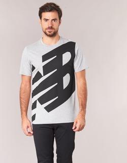 material Men short-sleeved t-shirts New Balance NB ESSENTIEL T Grey