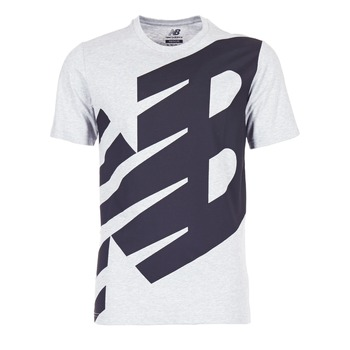 material Men short-sleeved t-shirts New Balance NB ESSENTIEL T Grey