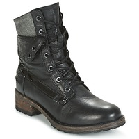 Shoes Women Mid boots Pataugas DEDAY Black