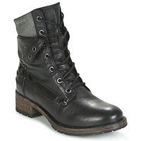 Shoes Women Mid boots Pataugas DEDAY Black