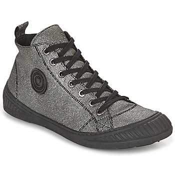 Shoes Women High top trainers Pataugas ROCKER Silver