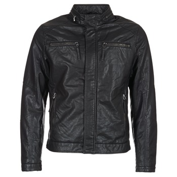 material Men Leather jackets / Imitation leather Esprit VARDA Black