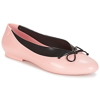 Shoes Women Ballerinas Melissa JUST DANCE Pink / Black