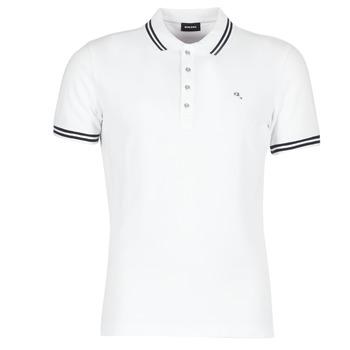 material Men short-sleeved polo shirts Diesel RANDY White