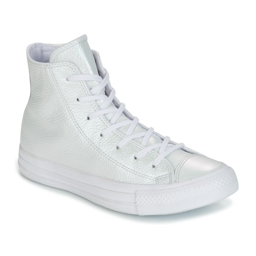 e497a37237a3 Shoes Women High top trainers Converse CHUCK TAYLOR ALL STAR IRIDESCENT  LEATHER HI IRIDESCENT LEATHER H