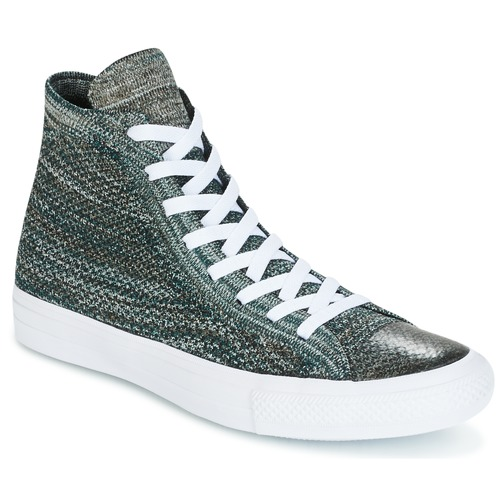 Shoes Men High top trainers Converse CHUCK TAYLOR ALL STAR NIKE FLYKNIT FLYKNIT MULTI HI FLYKNIT MULT Green / White