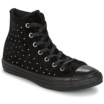 Shoes Women High top trainers Converse CHUCK TAYLOR ALL STAR HI Black