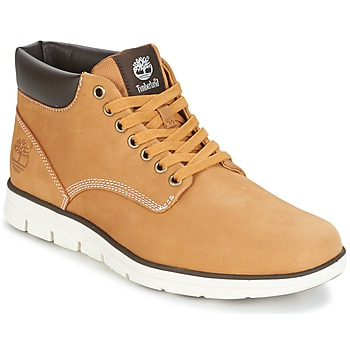 4b6a83168 Shoes Men High top trainers Timberland BRADSTREET CHUKKA LEATHER Brown