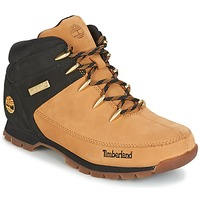 Shoes Men Mid boots Timberland EURO SPRINT HIKER Wheat /  BLACK