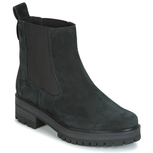 Shoes Women Mid boots Timberland COURMAYER VALLEY CHELSEA Black