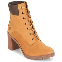 Shoes Women Ankle boots Timberland ALLINGTON 6IN LACE UP Wheat / Nubuck