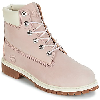Shoes Children Mid boots Timberland 6 IN PREMIUM WP BOOT Lavende