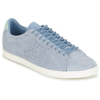 Shoes Women Low top trainers Le Coq Sportif CHARLINE NUBUCK Blue