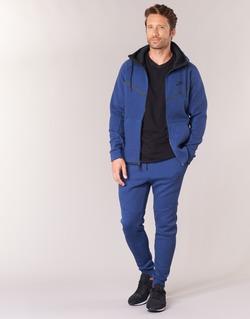 material Men Tracksuit bottoms Nike TECH FLEECE JOGGER Blue