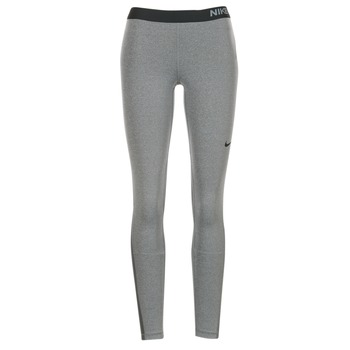 material Women leggings Nike NIKE PRO TIGHT Grey / Black
