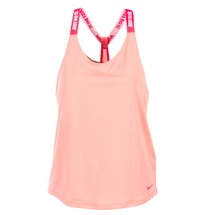 material Women Tops / Sleeveless T-shirts Nike NIKE DRY TANK ELASTIKA Pink / Red