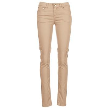 material Women 5-pocket trousers Les P'tites Bombes BEMBRELA Beige