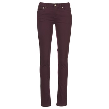 material Women 5-pocket trousers Les P'tites Bombes BEMBRELA PRUNE