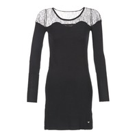 material Women Short Dresses Les P'tites Bombes DARTO Black