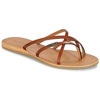 Shoes Women Flip flops Les Tropéziennes par M Belarbi BIP Brown