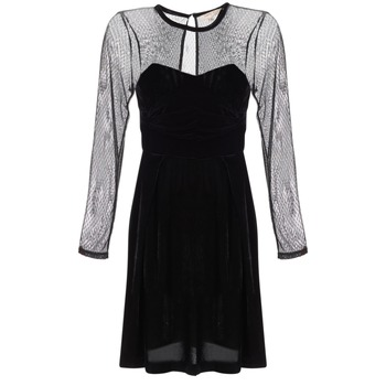 material Women Short Dresses Derhy BERET Black