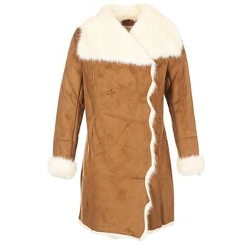material Women coats Derhy RADEAU CAMEL