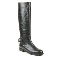 Shoes Women Boots Marc Jacobs CHAIN Black