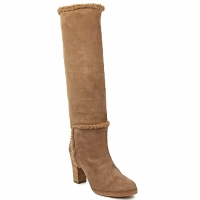 Shoes Women Boots Veronique Branquinho MERINOS Brown
