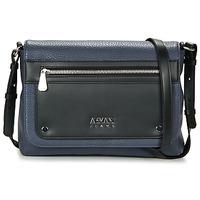 Bags Women Shoulder bags Armani jeans NOUBAS Black / MARINE