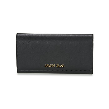 Bags Women Wallets Armani jeans SALDI Black