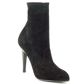 Shoes Women Ankle boots Michael Kors STRETCH LB Black
