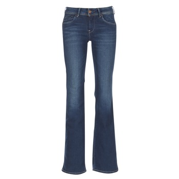 material Women bootcut jeans Pepe jeans PIMLICO CA0 / Blue / Raw