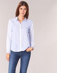 material Women Shirts Pepe jeans CRIS Blue